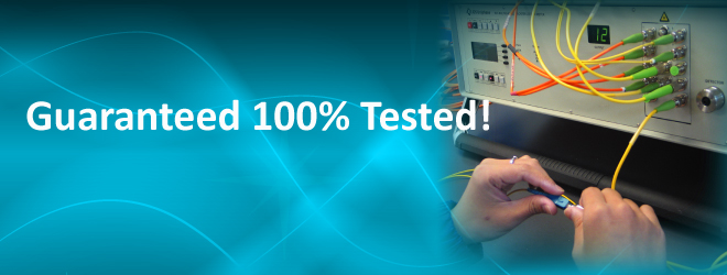 All Go4Fiber fiber optic patchcords and pigtail are 100% tested!